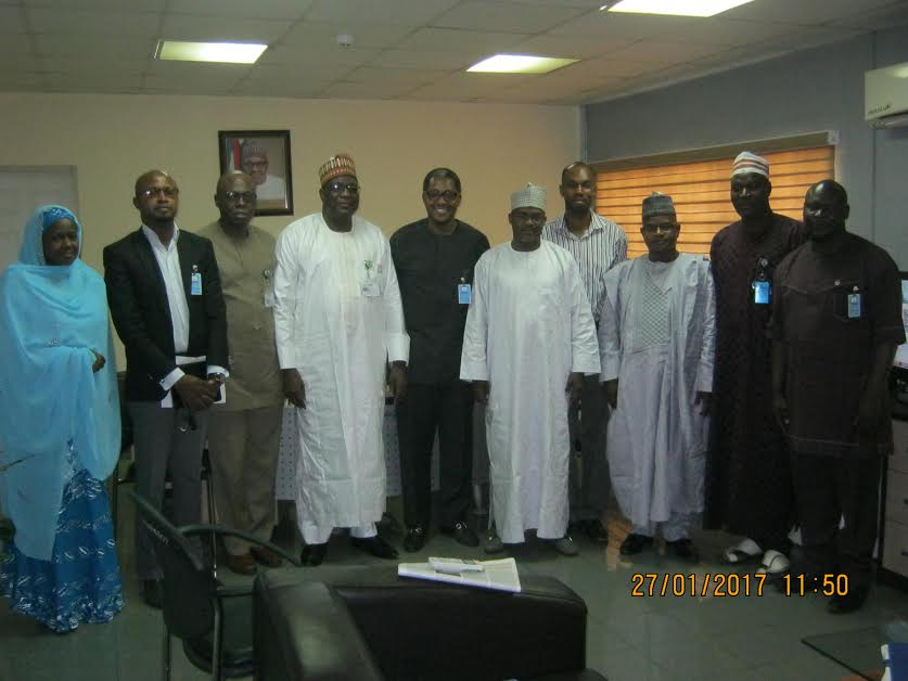 Courtesy visit made to the DPR Abuja Zonal Office by Interim Exco members